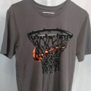 Nike Protect The Net Athletic Cut Tee Shirt (S)